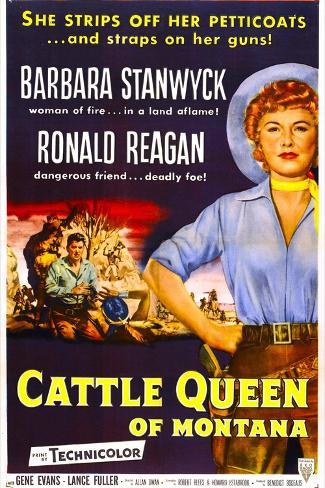 Cattle Queen of Montana Art Print