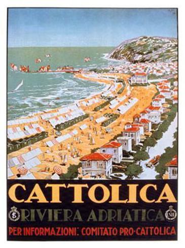 Cattolica Sand Giclee Print
