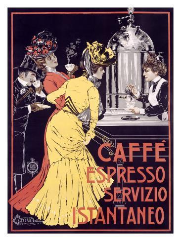 Caffe Espresso Giclee Print