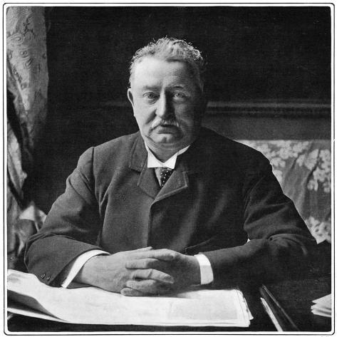 Cecil Rhodes, English-Born South African Entrepreneur and Statesman, C1901 Giclee Print