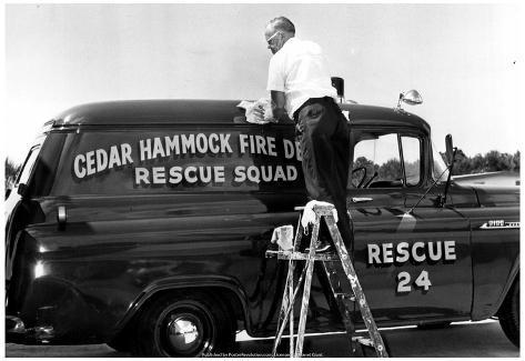 cedar hammock fire department 1965 archival photo poster cedar hammock fire department 1965 archival photo poster prints      rh   allposters   au