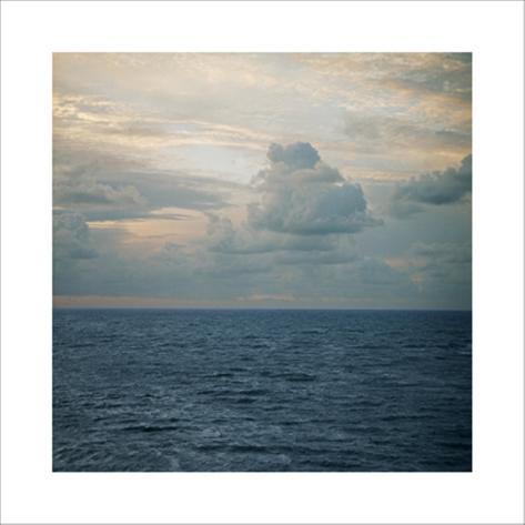 Clouded Horizon, 2006 Premium Giclee Print
