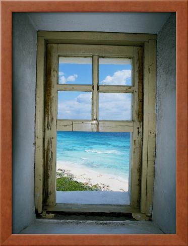 Celarain Lighthouse, Cozumel, Mexico Framed Photographic Print