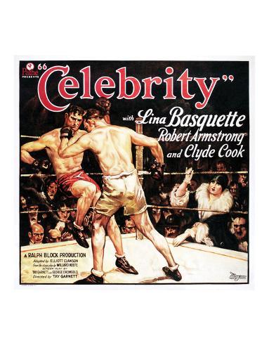 Celebrity - 1928 Giclee Print