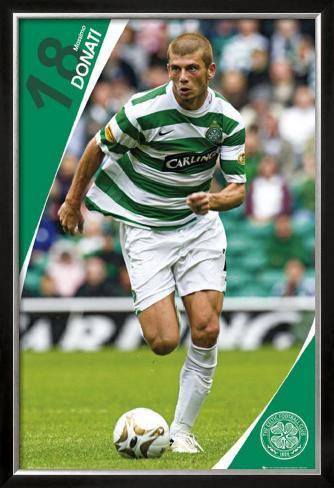 Celtic- Massimo Donati Framed Poster