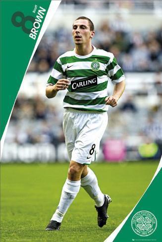 Celtic- Scott Brown Poster