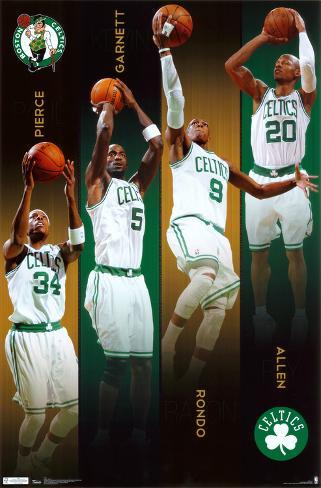 Celtics - Team 2011 Poster