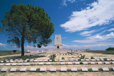 Cemetery of Lone Pine Stampa fotografica