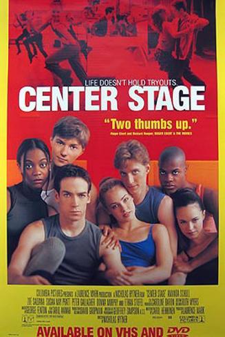 Center Stage Original Poster