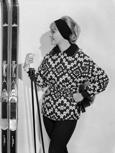 Ski-Jacket Photographic Print