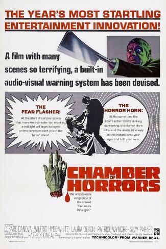 Chamber of Horrors, Patrick O'Neal, 1966 Art Print