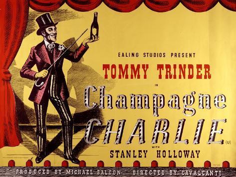 Champagne Charlie Art Print
