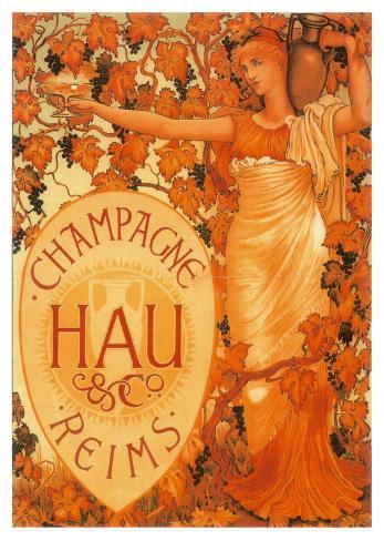Champagne Hau Reims Art Print