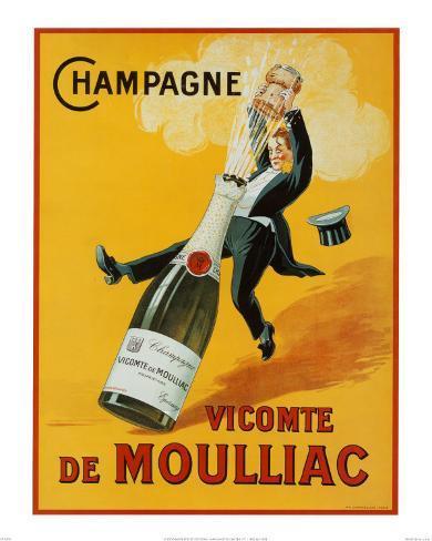 Champagne Art Print