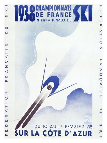 Championnats de France, c.1938 Giclee Print