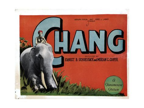 Chang, (aka Chang: a Drama of the Wilderness), Kru, Nah, 1927 Gicléetryck