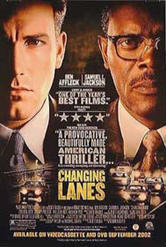 Changing Lanes Original Poster