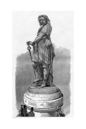 Vercingetorix Memorial at Alesia, Near Dijon, France, 1882-1884 Giclee Print