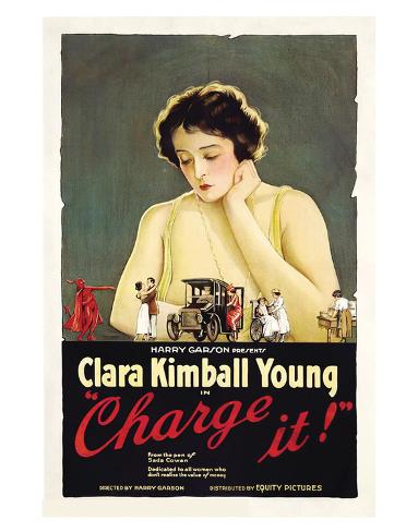 Charge It - 1921 Giclee Print