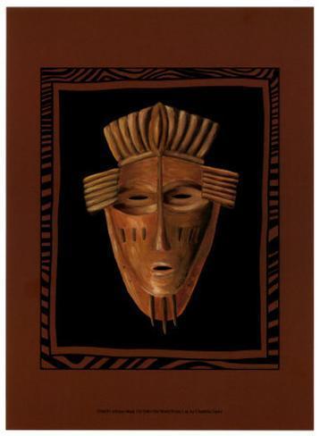 African Mask I Art Print