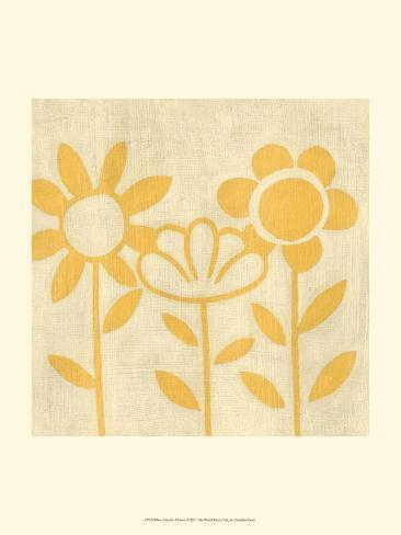 Best Friends - Flowers Art Print