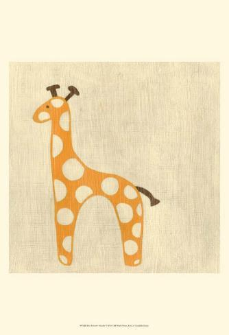 Best Friends - Giraffe Art Print