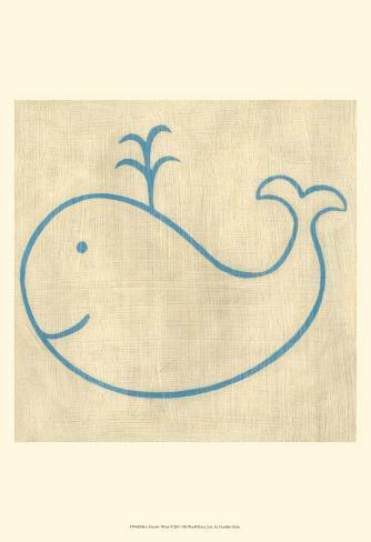 Best Friends - Whale Art Print