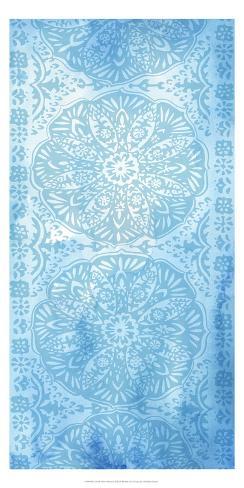 Cobalt Deco Panel I Stampa artistica
