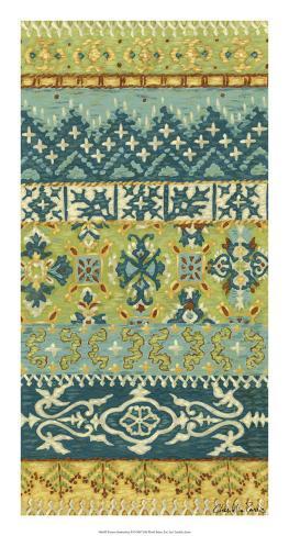 Eastern Embroidery II Giclee Print