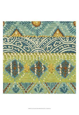 Eastern Textile II Art Print