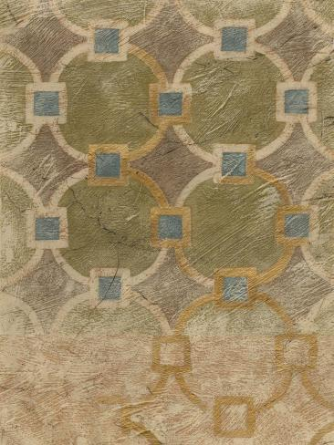 Exotic Tile IV Giclee Print