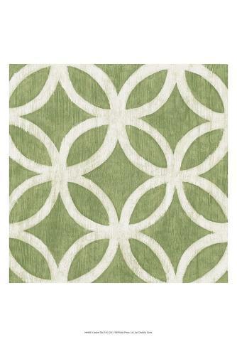 Garden Tile IV Art Print