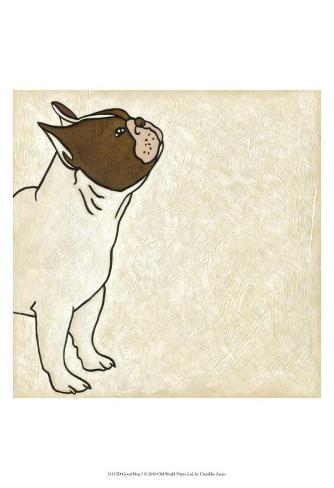 Good Dog I Art Print