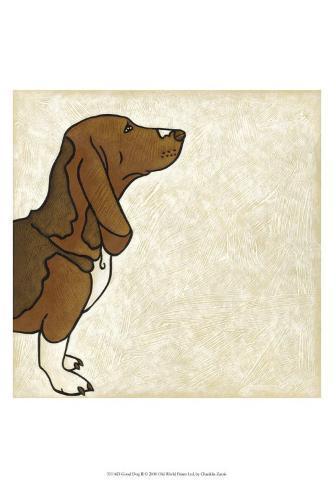 Good Dog II Art Print