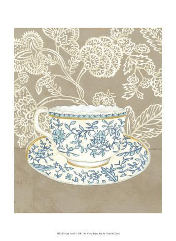 High Tea II Art Print
