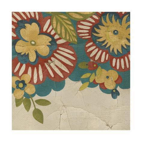 Picnic Tapestry I Art Print