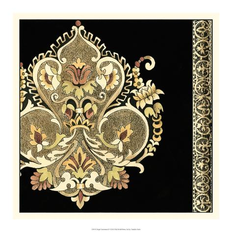 Regal Adornment II Art Print