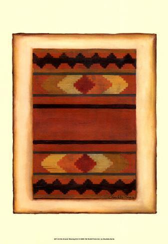Rio Grande Weaving II Art Print