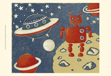 Space Explorer II Art Print