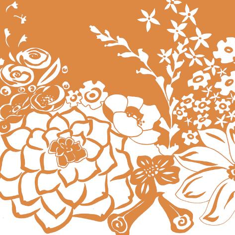 Vibrant Tokyo Garden IV Stampa artistica