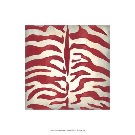 Vibrant Zebra I Limited Edition