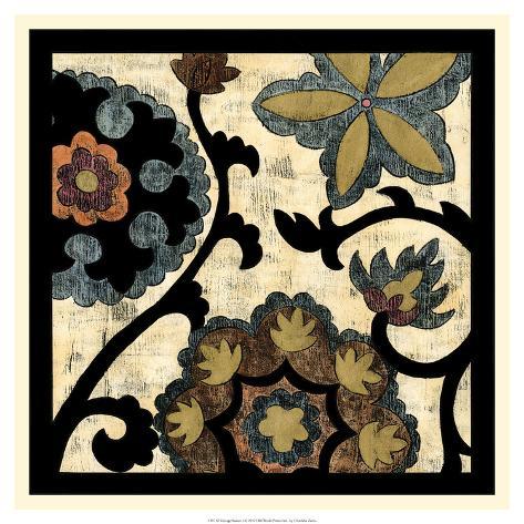 Vintage Suzani I Giclee Print