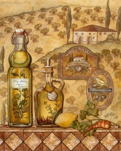 Flavors of Tuscany II Framed Art Print