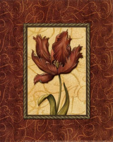Red Passion II Framed Art Print