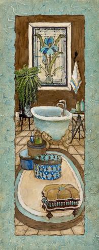 Baine de Blue II Art Print