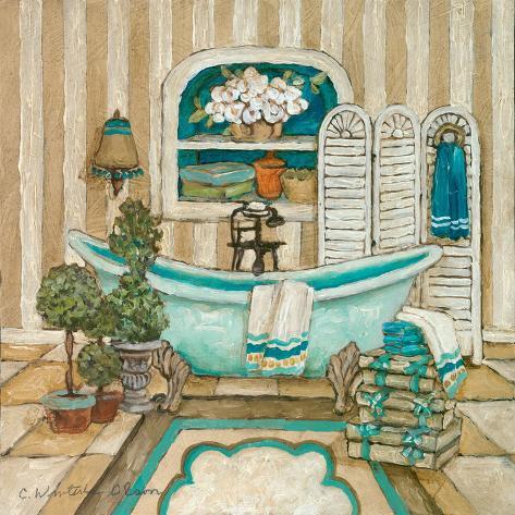 My Inspiration Bath I Art Print