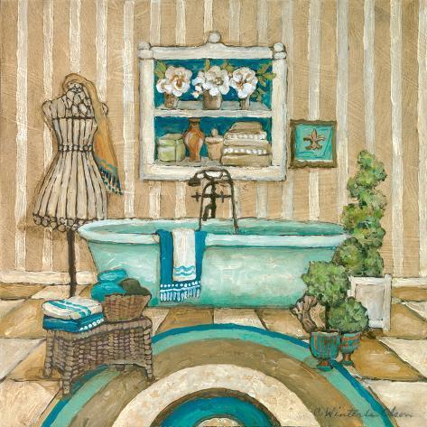 My Inspiration Bath II Art Print