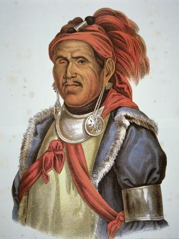 Tenskwatawa Giclee Print
