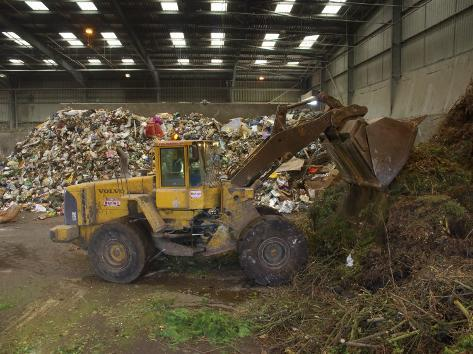 Waste Disposal Depot, England, United Kingdom Photographic Print