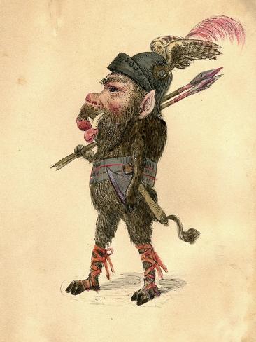 Wild Boar 1873 u0027Missing Linksu0027 Parade Costume Design  sc 1 st  AllPosters.ca & Wild Boar 1873 u0027Missing Linksu0027 Parade Costume Design Giclee Print by ...